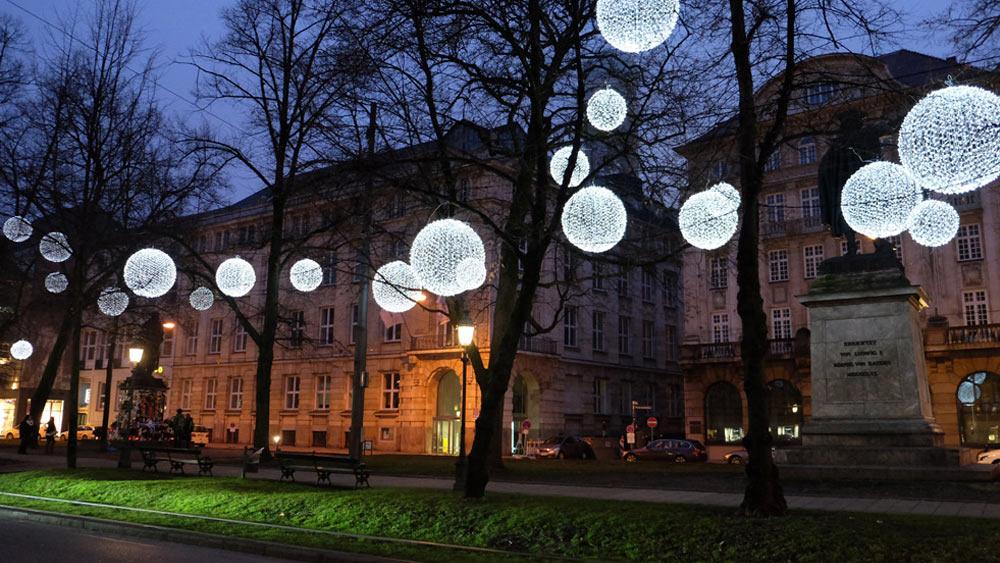 Lichtinstallation München