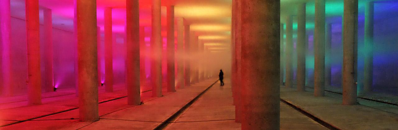 Lichtinstallationen und Lichtkunst